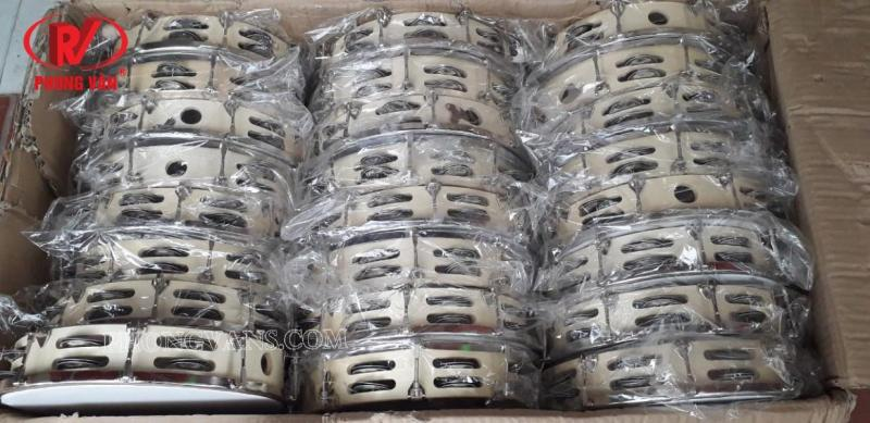 Trống tambourine lục lạc gỗ
