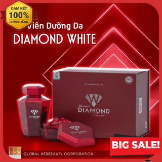 [CHÍNH HÃNG] Viên Uống Trắng Da Ngọc Trinh Beauty Diamond White, Trắng Da Chống Nắng, Chống Nám Tàn Nhang, KHUYẾN MẠI MUA 3 TẶNG 1 ĐÔNG TRÙNG LINH CHI HOẶC 2 SỮA ONG CHÚA thumbnail