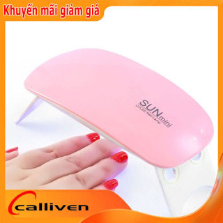 Máy hơ gel SUN MINI NAIL360 chuyên dùng cá nhân làm móng tay Đổi Mới Bảo Hành 30 ngày hơ sơn gel, base top gel, màu gel thumbnail