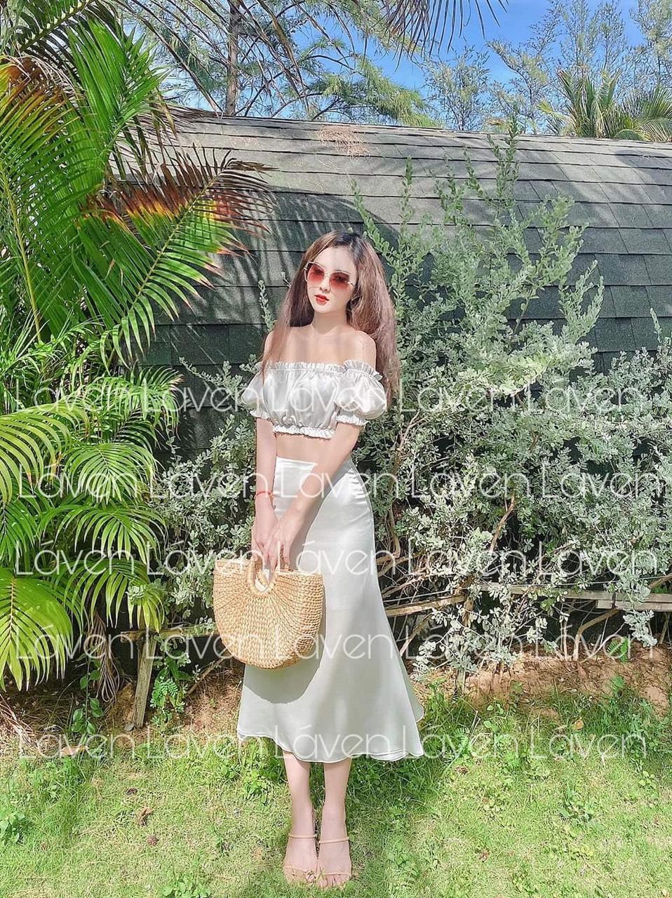 Sét Áo Kiểu Và Chân Váy Siêu Đáng Yêu, Sành Điệu Phá Cách ZOON Giá Siêu Rẻ