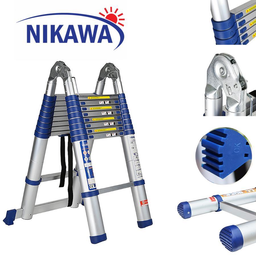 Thang nhôm đa năng 5,0m NIKAWA-Nhật Bản NK-50AI new