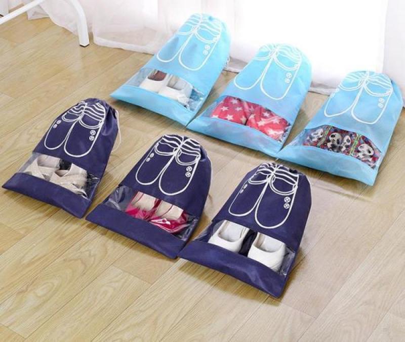 [CHỈ 49K hôm nay][TIẾT KIỆM HƠN]Combo 5Túi Đựng Giày Du Lịch Không Thấm Nước, túi đựng giày chống thấm, tui đựng giày nhỏ gọn, túi đựng giày. KHO GIÁ XƯỞNG
