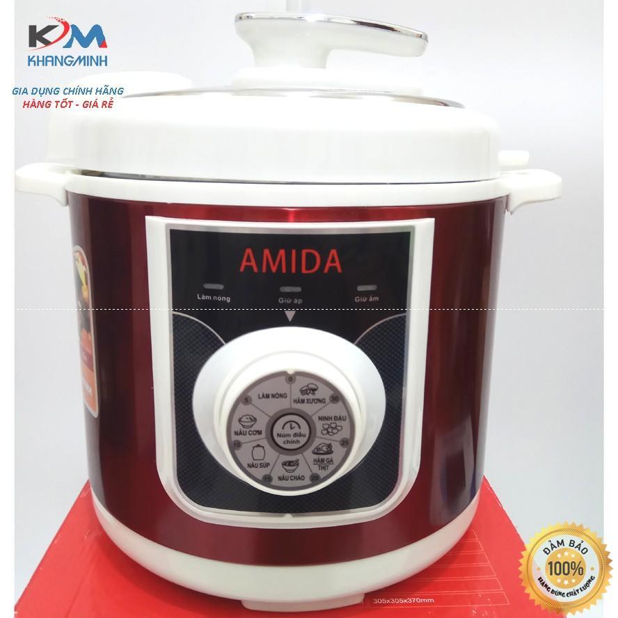 Nồi áp suất thông minh siêu bền AMIDA AM 799 Bảo Hành 18Tháng