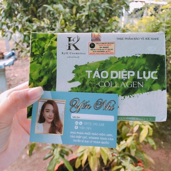 [ CóThẻ Bảo Hành - Check mã điiện tử, Date mới nhất ] Tảo Diệp Lục Collagen KYO, Đẹp da - Nhiều Công Dụng - Chính Hãng