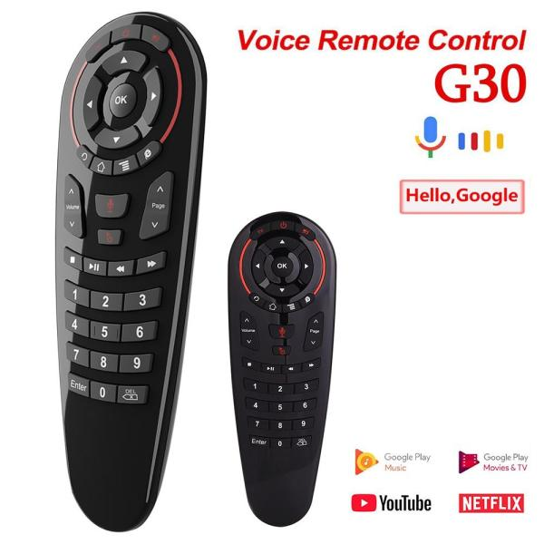 Remote chuột bay Air Mouse Voice Control G30S - Tương thích với TV Android, Smart TV, Android Box