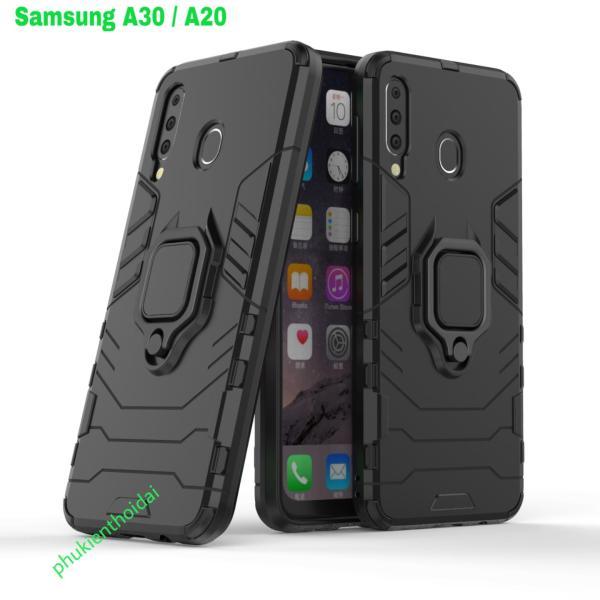 Ốp lưng Samsung Galaxy A30 / A20 dùng chung chống sốc Iron Man Iring cao cấp siêu bền