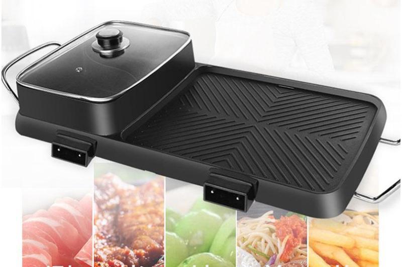 Bảng giá Bếp Lẩu, Nướng Điện 2 Trong 1 Siêu Tện Dụng - Sẵn Sàng Đón Tết - Bếp Lẩu Điện Công Suất Cao - Bếp Lẩu Điện - Bếp Nướng Điện - Lẩu - Nướng - Bếp Điện Điện máy Pico