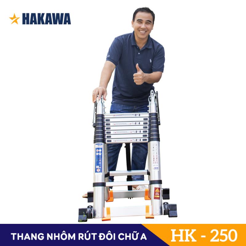 THANG NHOM RUT DOI CHU A CAO CẤP HAKAWA HK-250 - HÀNG CHÍNH HÃNG - BẢO HÀNH 2 NĂM - ĐỔI TRẢ TRONG 30 NGÀY