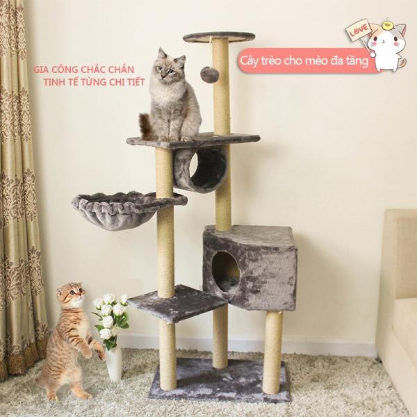 Cho Thú Cưng Hài Hước Trang Chủ Cào Bài Đào Tạo Khung Leo Trèo Cho Mèo