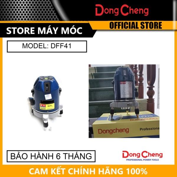Máy Đo Laser 5 Tia Đỏ Dongcheng DFF41- HÀNG CHÍNH HÃNG