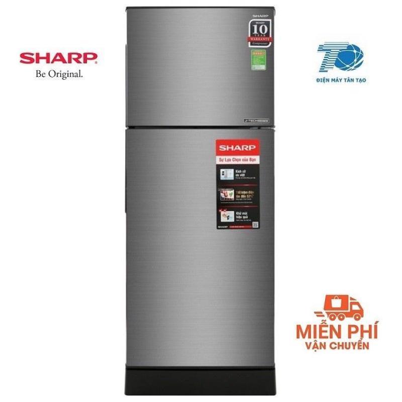 Tủ lạnh Sharp Inverter 196 lít SJ-X201E-DS / SL
