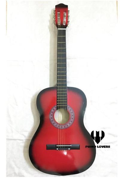 Đàn Guitar Gỗ Acoustic Dáng D Màu Đen