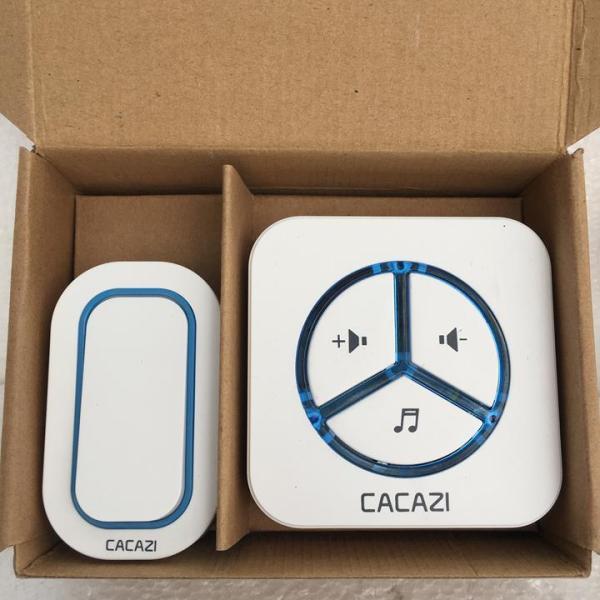 Chuông cửa không dây chống nước cao cấp CACAZI 9909