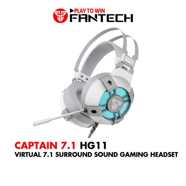 Tai Nghe Gaming 7.1 Fantech HG11 CAPTAIN LED RGB Hỗ Trợ Mic Chống Ồn - Hãng Phân Phối Chính Thức
