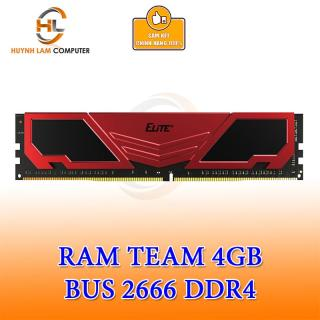 Ram 4GB Team Elite DDR4 2666MHZ Tản Đỏ - Networkhub Phân phối thumbnail