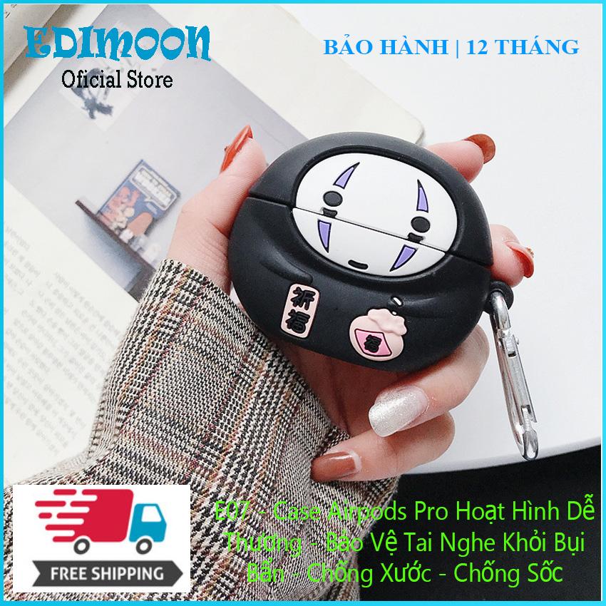 [XẢ KHO 3 NGÀY] Case Airpods Pro Bảo Vệ Tai Nghe Bluetooth Không Dây Hoạt Hình Dễ Thương E07 Edimoon|HÀNG ĐẸP| Vỏ Ốp Cho Tai Nghe Chống Bụi Bẩn - Chống Sốc - Chống Xước - Chất liệu Gel silica