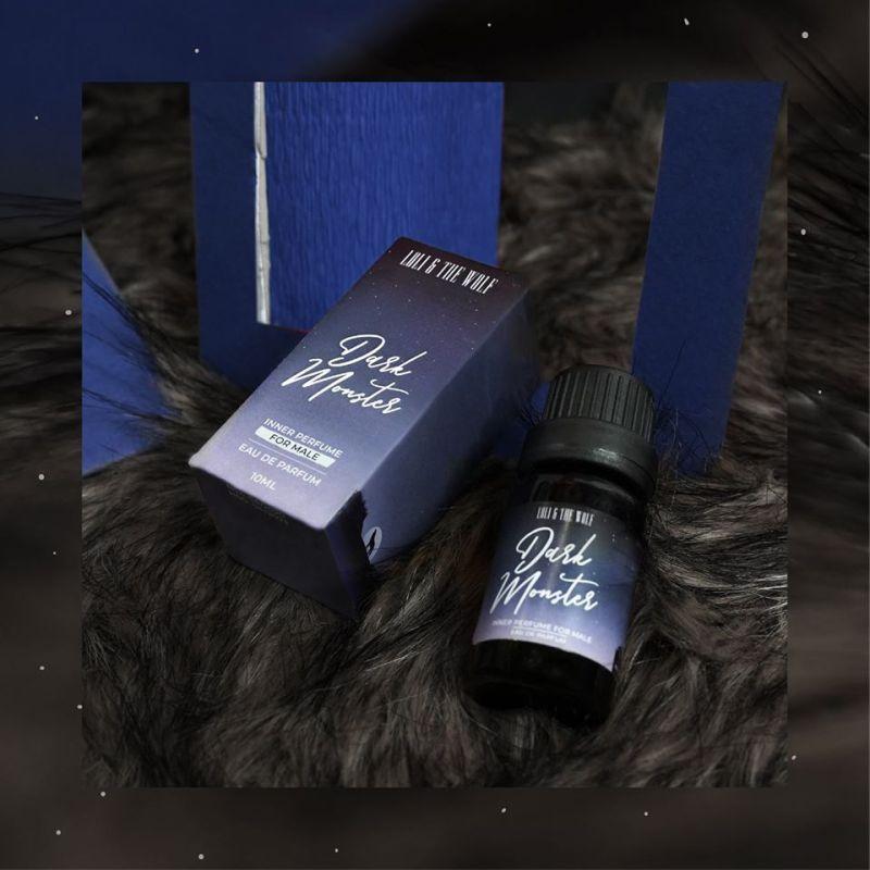Nước hoa vùng kín nam Loli & The Wolf hương Dark Monster Eau De Parfum chai chấm 10ml cao cấp