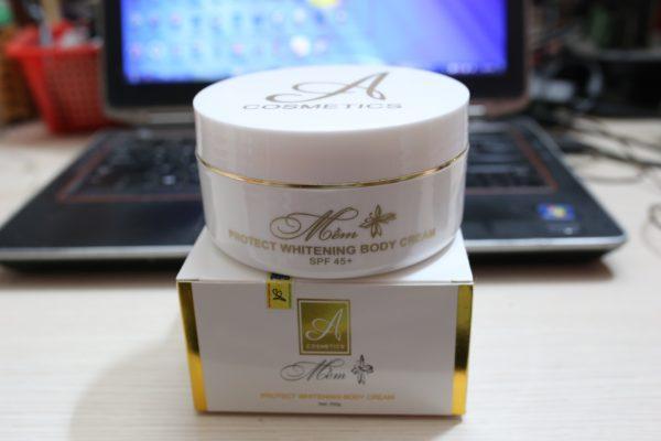 Kem dưỡng trắng da toàn thân A Cosmetics Phương Anh
