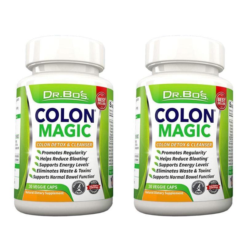 Bộ 2 hộp viên uống giảm cân & thanh lọc cơ thể cực HOT từ Mỹ (Dr.Bos) cao cấp