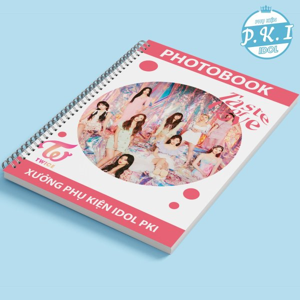 "Album Ảnh Photobook In Hình TWICE – ""Taste Of Love"""