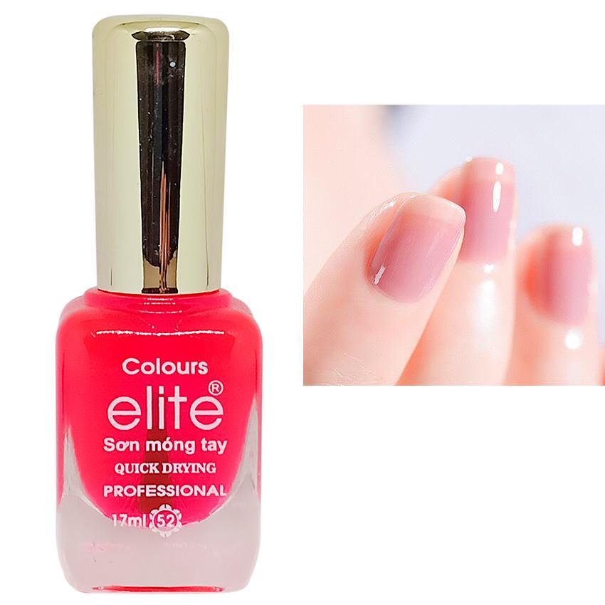 Sơn móng tay gel Colours Elite Quick Drying 17ml (Hồng Nước) tốt nhất