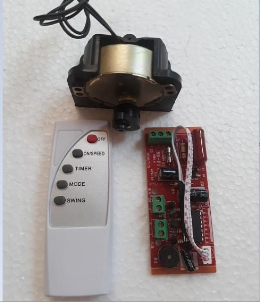 Combo bộ điều khiển quạt từ xa + bộ tuốc năng điện