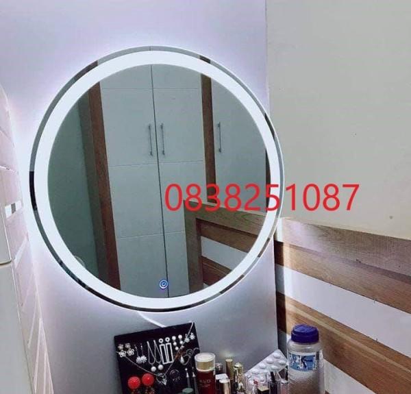 Gương đèn LED tròn D600mm CÔNG TẮC CẢM ỨNG TRÊN GƯƠNG giá rẻ