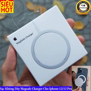 [ Siêu Hot 2021 ] Sạc Không Dây Magsafe Trên IPhone 8 X Xs Max 11 11 Pro Max 12 12 Pro 12 Pro Max Hỗ Trợ Sạc Nhanh 15w, Giúp Sạc Không Dây Nhanh Chóng, Không Nóng Máy, Nhỏ Gọn, Thời Trang, Mang Theo Bất Kể Nơi Đâu, Là PK Hữu Ích Cho Bạn. thumbnail