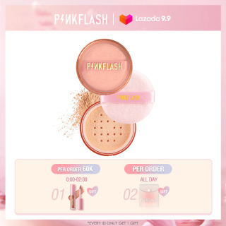PINKFLASH OhMySelf Matte Lightweight Translucent Loose Setting Powder Soft Waterproof Oil-control Long-lasting Face Makeup thumbnail