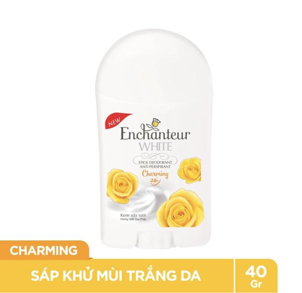 Sáp Khử Mùi trắng da Enchanteur Charming 40g