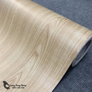 [HCM]Decal vân gỗ màu kem - giấy dán tường bàn tủ có sẵn keo ( Gỗ G4 ) thumbnail
