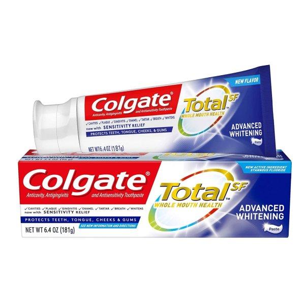 Kem đánh trắng răng Mỹ Colgate Total tuýp 181g