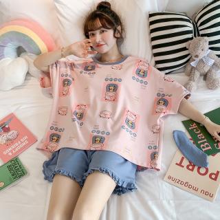 Đồ Bộ Nữ mặc nhà Minh Thư chất liệu Cotton mềm mát dễ thương - mã BC-04 thumbnail