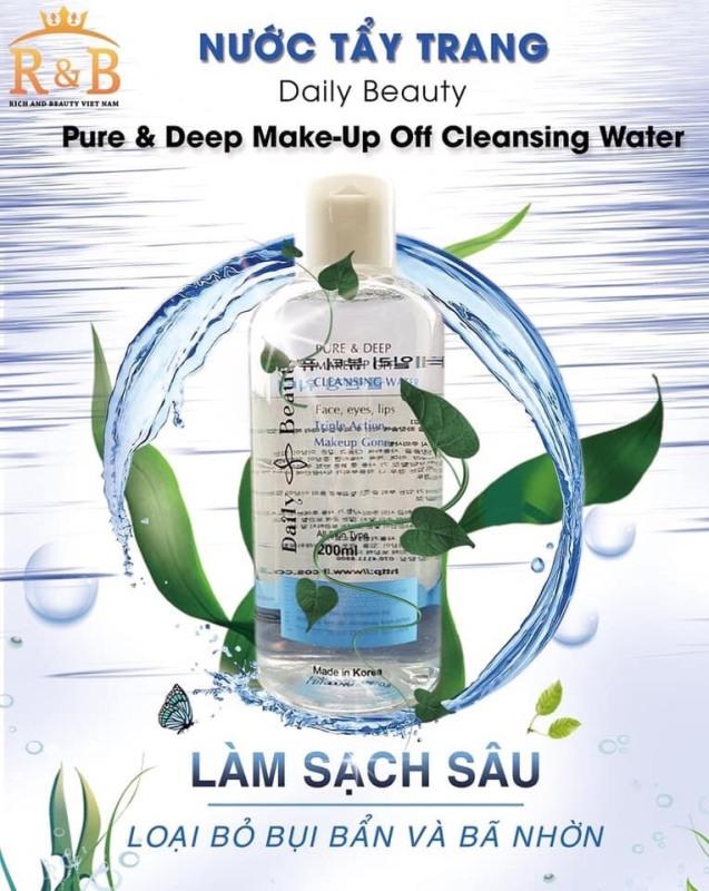 [Chính hãng] Nước tẩy trang R&B làm sạch sâu dưỡng ẩm sáng da thiên nhiên cao cấp