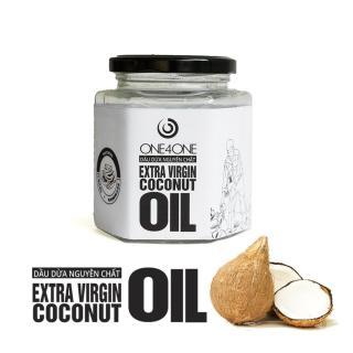 Dầu Dừa Lọ Nguyên Chất One4One 380ml - Extra Virgin Coconut Oil thumbnail