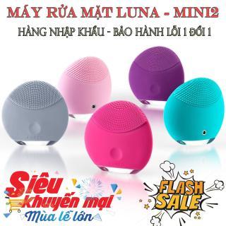 may rua mat foreo - Máy rửa mặt silicon cao cấp FOREVER Máy rửa mặt sóng âm inFace - máy rửa mặt miniso cao cấp, đem lại làn da mềm mịn,trắng hồng tự nhiên thumbnail