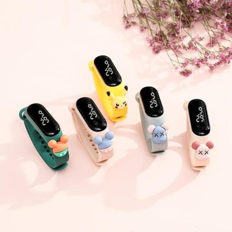 Nơi bán Đồng hồ điện tử unisex Zgoo Disnney Siêu Hot - Đồng hồ trẻ em chống nước