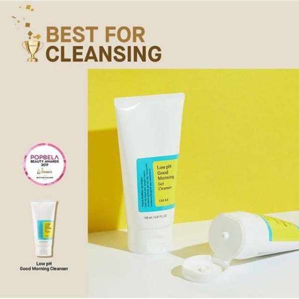 Sữa rửa mặt Cosrx Low Ph Good Morning Gel Cleanser, chất lượng đảm bảo an toàn đến sức khỏe người sử dụng, cam kết hàng đúng mô tả