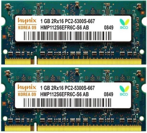 Ram Laptop1G DDR2 bus 667, 800 nhiều hiệu hàng xịn