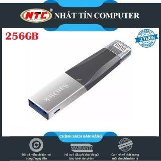 [TẶNG 10 BAO LÌ XÌ] USB 3.0 OTG SanDisk iXpand Mini Flash Drive 256GB (Bạc) - Nhất Tín Computer thumbnail