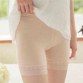 [HCM]Quần đùi mặc váy thun lạnh phối ren cao cấp (freesize 38-50kg) - quần váy - quần mặc trong váy - quần lót nữ - quần sịp nữ - DUDIA N10 thumbnail