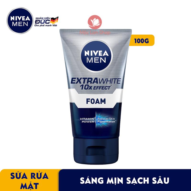 Sữa rửa mặt cho nam Nivea Men sáng da và sạch sâu 10 trong 1 (100g) - 88836 - Mỹ phẩm Mộc Lan