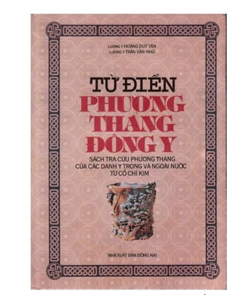 Mua Từ điển Phương thang Đông Y - Hoàng Duy Tân