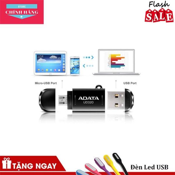 Giá USB OTG 2.0 ADATA UD320 32GB cổng micro USB dành cho điện thoại Android -
