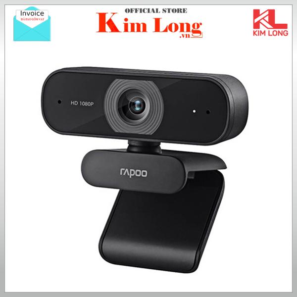 Bảng giá Webcam Rapoo C260 FullHD 1080P - Bảo hành chính hãng 2 Năm Phong Vũ