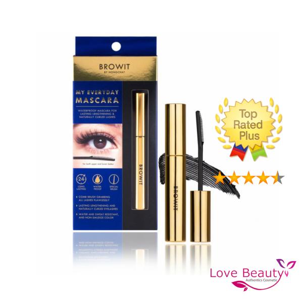 Mascara NongChat Browit Thái Lan làm dày, dài cong mi, chuyên dụng cho makeup