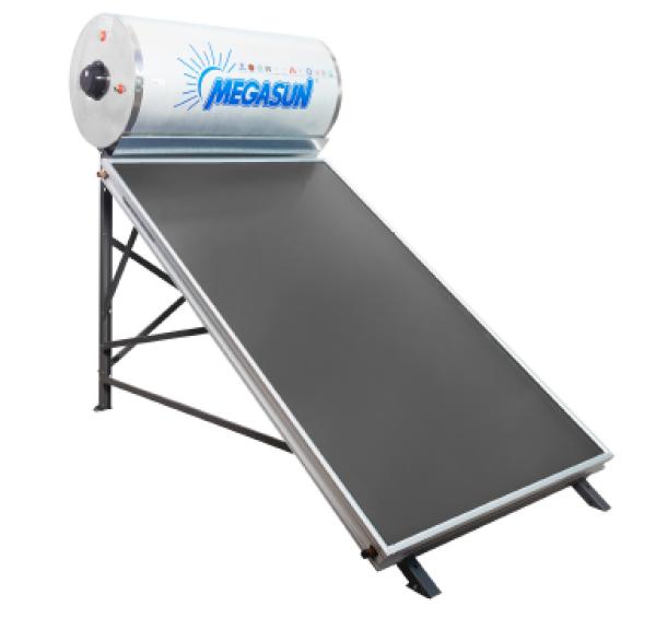 Bảng giá Megasun - máy nước nóng năng lượng mặt trời tấm phẳng không chịu áp 200 Lít
