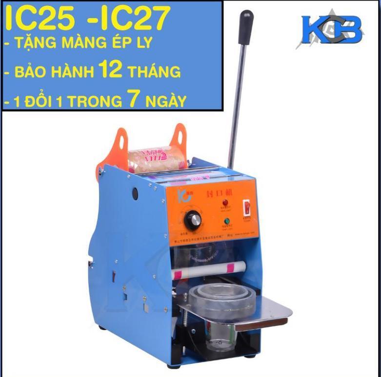 Máy ép miệng ly IC- 25