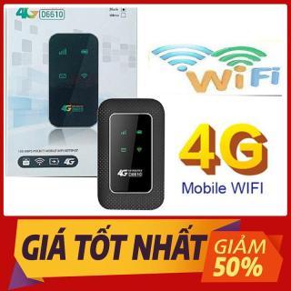 Bộ Phát WiFi 3G 4G Viettel D6610 Airtel KHÔNG DÂY - Tặng kèm siêu sim V120 thumbnail
