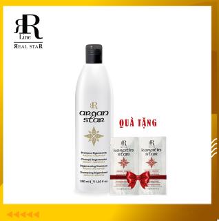Dầu gội dưỡng ẩm, phục hồi, mềm mượt RRline Argan Star 350ml thumbnail